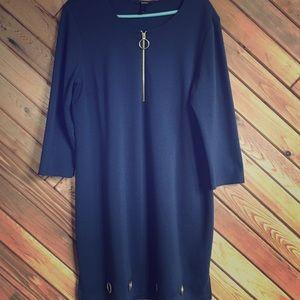 Navy blue MSK sheath dress